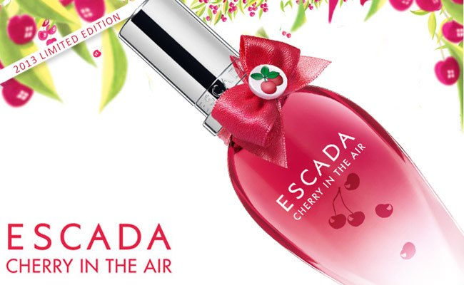 Campioncino gratis Escada Cherry in the Air