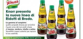 Campione omaggio Ridotti di Brodo Knorr