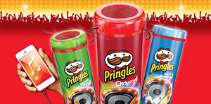 Quasi gratis: party speaker da Pringles