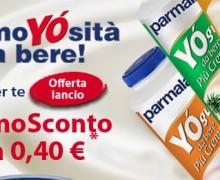 Buono sconto Parmalat Yogurt da bere Piu' Cremoso