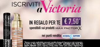 Promozione Victoria Acqua & Sapone
