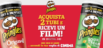 Vinci un film con Pringles Movie Night