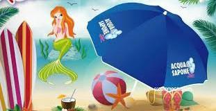 Acqua e Sapone ti regala l'ombrellone per la tua estate