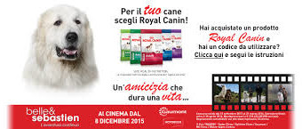 Al cinema con Royal Canin