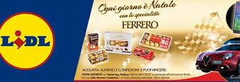 Concorso Ferrero e Lidl: vinci premio sicuro
