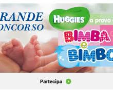 Nuovo concorso Huggies a prova di bimba e bimbo