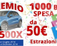 Acqua e Sapone: buoni spesa e Fiat 500 in palio