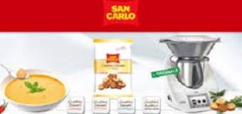 Crostini San Carlo regalano Bimby