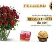Ferrero regala buoni Interflora