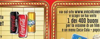 Coca Cola e Penny Market ti portano al cinema