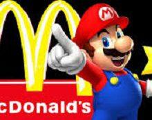 McDonald's regala console Nintendo e Super Mario Kart