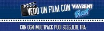 Vivident ti porta al cinema: scopri come
