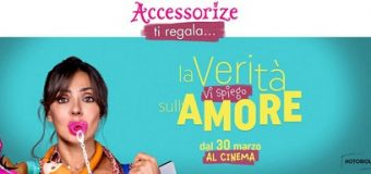 Accessorize ti regala un buono per il cinema