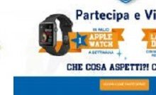 Cerotti Salvelox regalano Apple Watch