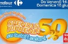 Carrefour Spendi&Riprendi sui prodotti solari