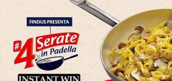 Concorso 4 Serate in Padella Findus: ecco come partecipare