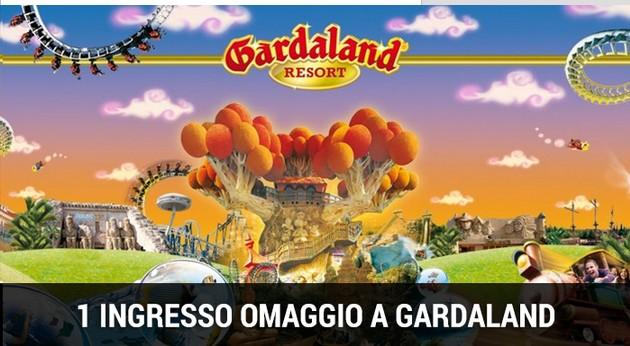 Ingresso omaggio Gardaland