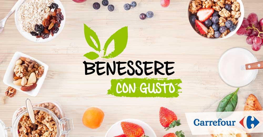 Concorso Carrefour Benessere con Gusto: vinci card da 50 euro