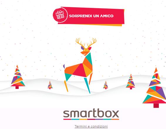 Concorso Smartbox: vinci subito