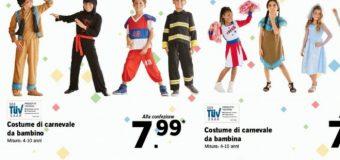 Vestiti di Carnevale LIDL: il nuovo volantino