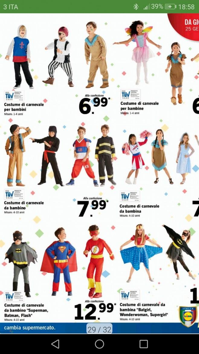 Costumi Halloween 2019 Lidl.Lidl