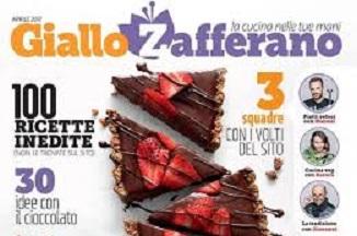Giallo Zafferano 3 mesi gratis di riviste