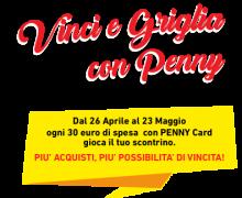 Concorso Griglia e Vinci con Penny: vinci un barbecue!