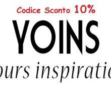 Codice sconto Yoins.com: 10% su tutto il catalogo