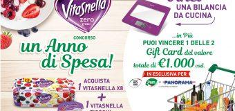 Concorso Vitasnella Zero Grassi: vinci un anno di spesa
