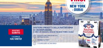 Vola a New York e Dubai con il concorso Nastro Azzurro