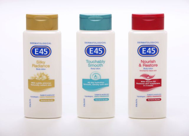 Campione omaggio crema per la pelle E45