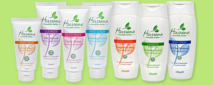 Campione omaggio cosmetici Hussana