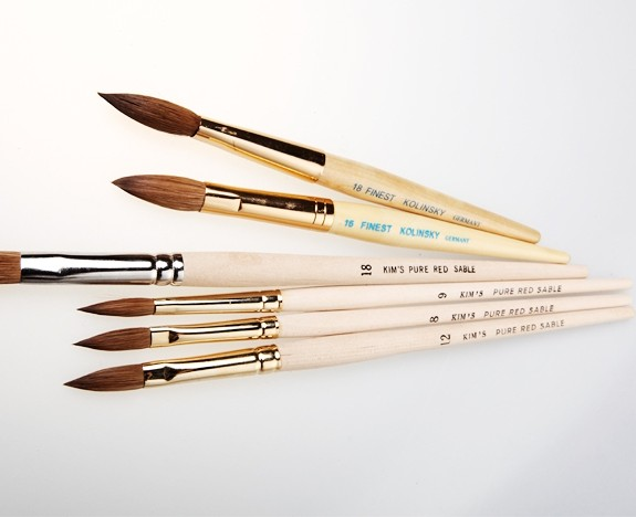 Brush set omaggio da KM Nail