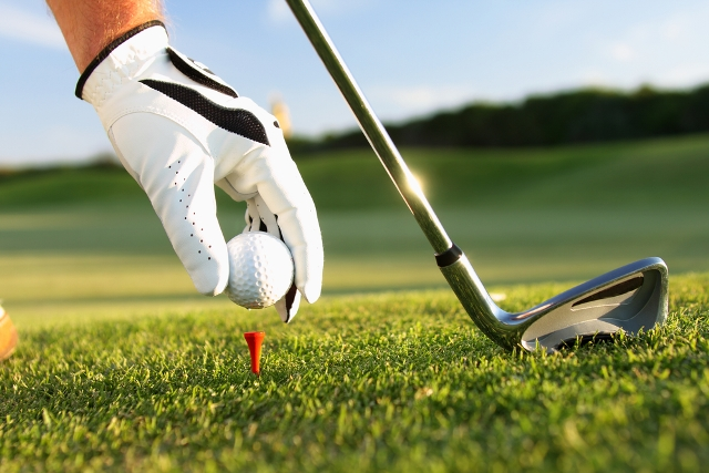 Omaggio per i giocatori di golf!