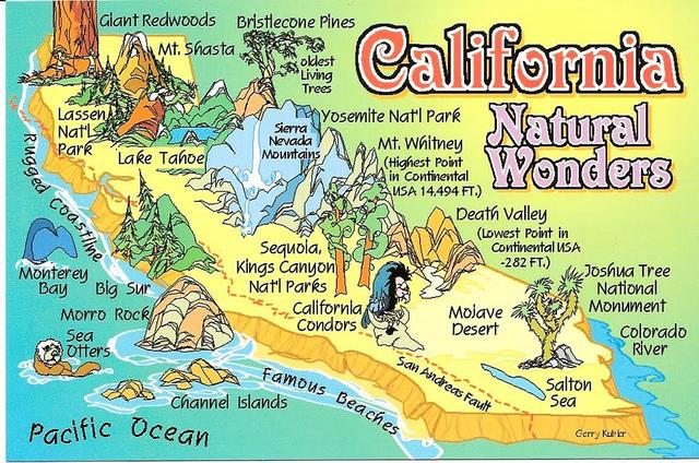 Guide turistiche omaggio: California