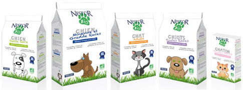 Nestor Bio campione gratis di cibo per animali