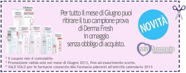 Campione omaggio Derma Fresh