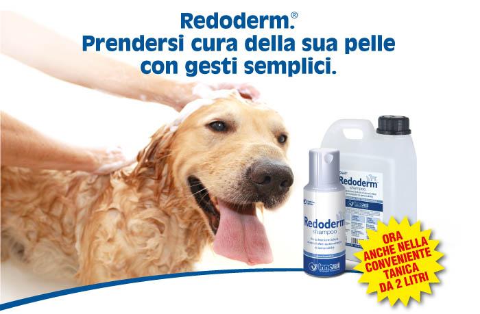 Redoderm campione gratuito di shampoo per cani