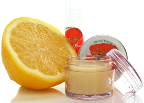 Campione gratis balsamo al limone per labbra