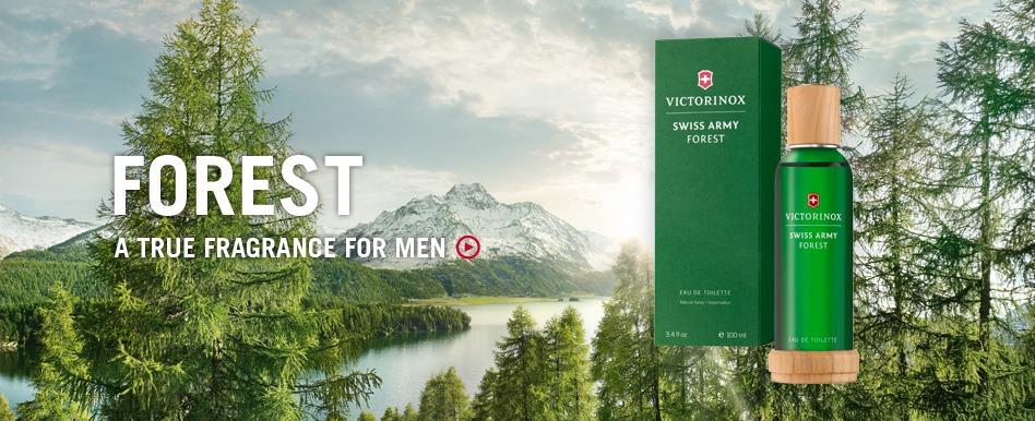 Campione omaggio profumo Swiss army Forest di Victorinox