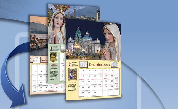 Calendari 2014 gratis: Luci Sull'Est