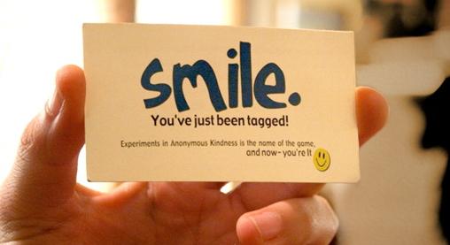 Smile tag in omaggio!