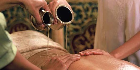 Campione omaggio di olio per massaggi