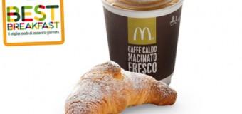 Colazione al McDonalds solo 1 euro