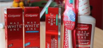 Campione omaggio Colgate Max White One