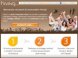 sondaggi pagati hiving campionigratis.info