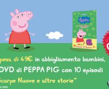DVD di Peppa Pig grazie a Prénatal