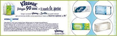 Acquista Kleenex da Acqua e Sapone e ricevi buoni spesa