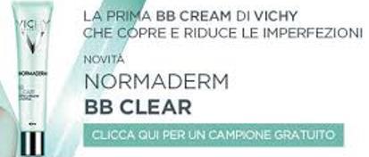 Richiedi un campione di Normaderm BB Clear