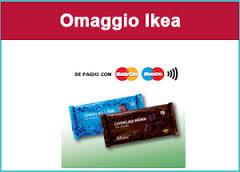 Ikea: paga con Mastercard e ricevi una barretta di cioccolato